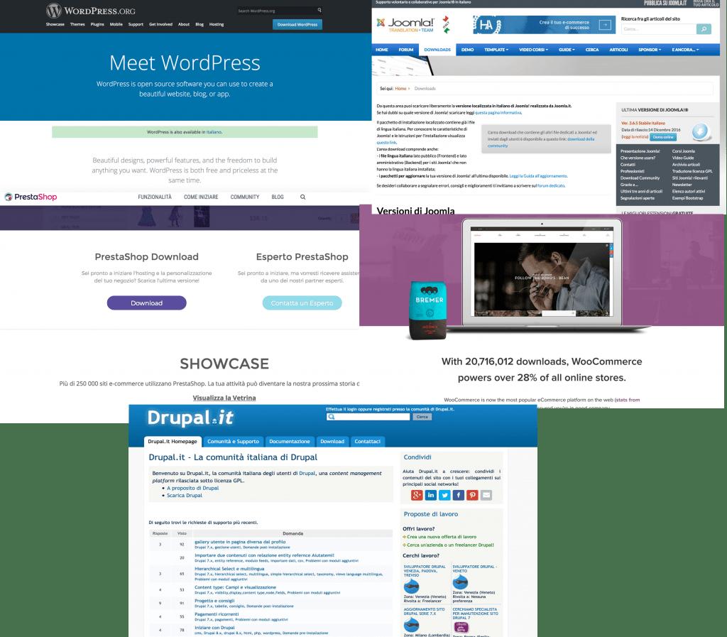 Collegamenti siti Web